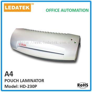 HD-230P A4 Pouch Laminator