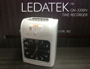 LEDATEK GM-3300N Time Recorder