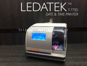 LEDATEK T-77SD DATE & TIME PRINTER