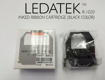 LEDATEK R1020 TIME RECORDER INKED RIBBON