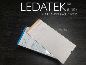 LEDATEK R1026 TIME CARDS