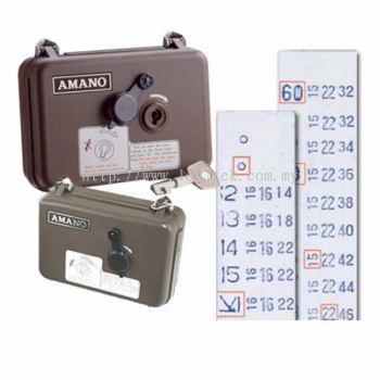 AMANO PR-600 Watchman Clock / Tour Clocking Machine