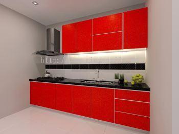 I Type Dry Kitchen 10ft