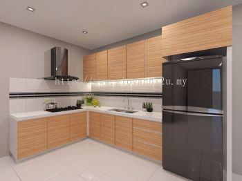 L Type Kitchen 12 ft