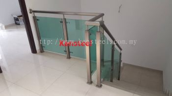Stainless Steel Glass Staircase 74
