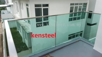 Stainless steel Glass fencing 32