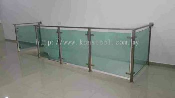 Stainless steel Glass fencing 19