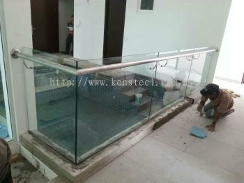 Stainless steel Glass fencing 26