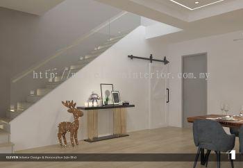 Staircase Area Design