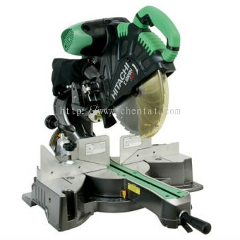 "Hitachi - C12RSH 12"" Sliding Dual Compound Miter Saw with Laser Marker"