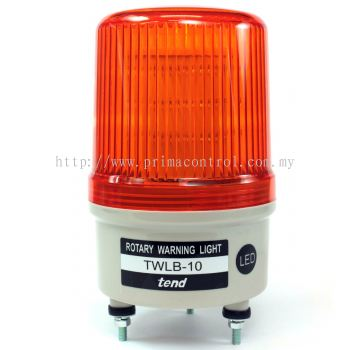 TEND TWLB-16L 160MM ROTARY LIGHT WITH AUDIBLE ALARM Malaysia Indonesia Philippines Thailand Vietnam Europe & USA