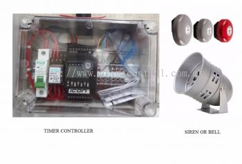 SCHOOL BELL TIMER CONTROLLER Malaysia Thailand Singapore Indonesia Philippines Vietnam Europe USA