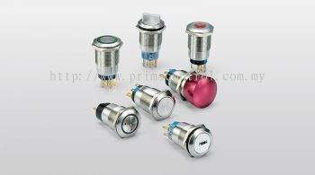 METAL PUSH BUTTON SWITCH Malaysia Thailand Singapore Indonesia Philippines Vietnam Europe USA