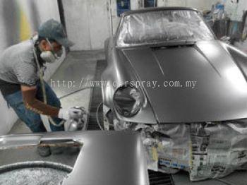 Porsche Car Spray Service