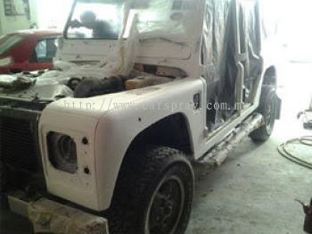 Jeep Car Spray Service