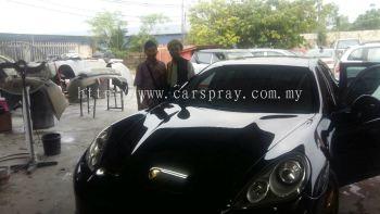 Porsche Car Spray