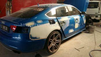 Audi Car Paint Service 2016