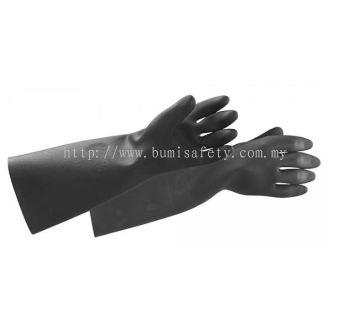Black Knight Heavy Duty Rubber Gloves