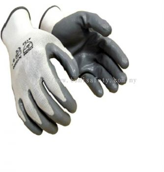 HAND PROTECTION NITRILE PALM COATED (FITTED)