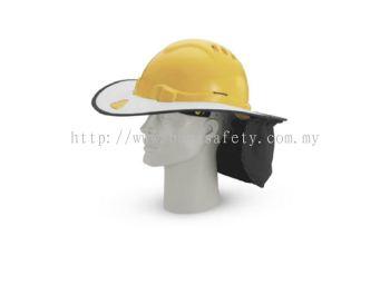 INDUSTRIAL SAFETY HELMET SUNSHADE HELMET