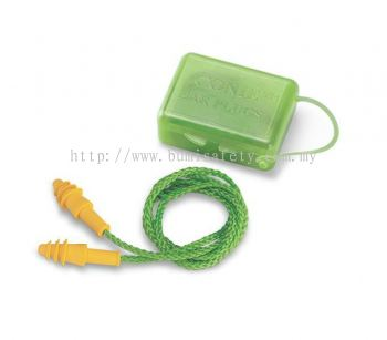 Reusable Earplugs - Corded with case