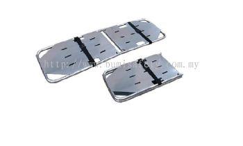 Foldaway Aluminium Spine Board w,2 straps