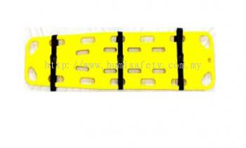 Spine Board w,3 straps ( For Adult & Child )