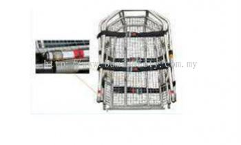 Stainless Steel Basket Stretcher w/4 point Bridle Sling