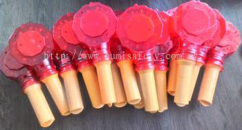 SAFETY - RED FLOWER BLINKER