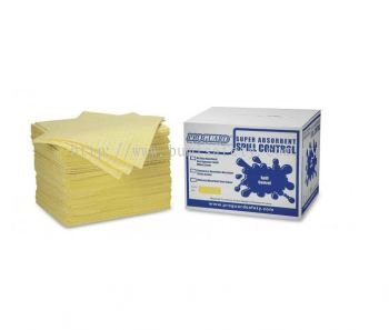 Laminate Sorbent Pad 8mm - Chemical