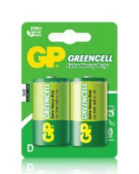 GreenCell Batteries D