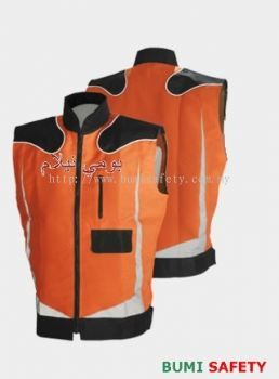 Fabric Vest Jacket - OR