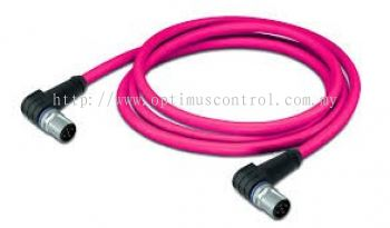 WAGO 756-1604-060-050 sercos cable, angled Malaysia Singapore Thailand Indonedia Philippines Vietnam Europe & USA