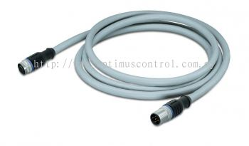 WAGO 756-3105-040-200 Power supply cable, straight Malaysia Singapore Thailand Indonedia Philippines Vietnam Europe & USA