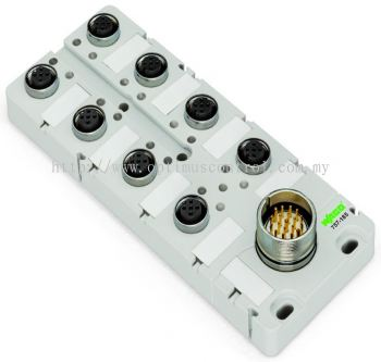 WAGO 757-144 M12 sensor-actuator box Malaysia Singapore Thailand Indonedia Philippines Vietnam Europe & USA
