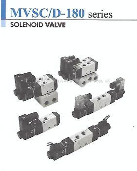 MINDMAN MVSC/D-180 SERIES 3/2, 5/2 & 5/3 SOLENOID VALVE