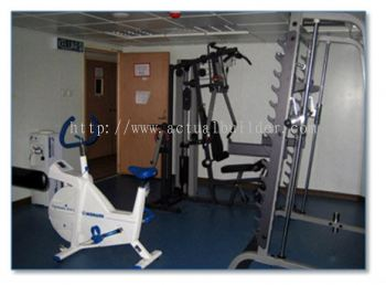 Offshore Topside Gym Room