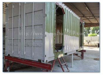 Modification and Fabrication of Container Room