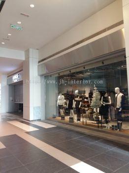 Shopping Mall Renovation Shop Lot