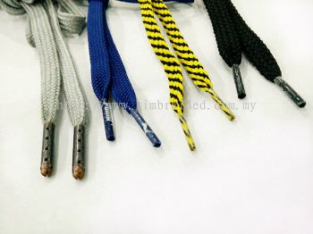 Garment Ropes With Metal Aglet