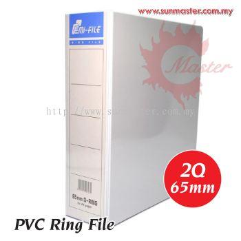 2Q 65mm PVC Ring File