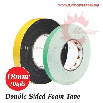 18mm x 10yds Foam Tape