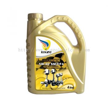 5W-40 Fully Synthetic 4L