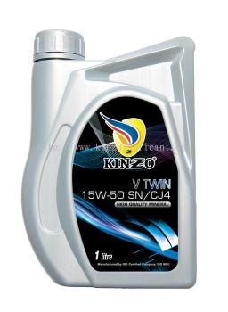 Kinzo Mineral V Twin 15W-50 SN/CJ4 1L