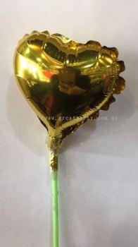 5 Inch Full Love Shape (Gold)