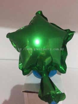 5 Inch Star Shape (Green)