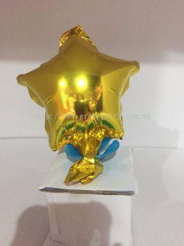 5 Inch Star Shape (Gold)
