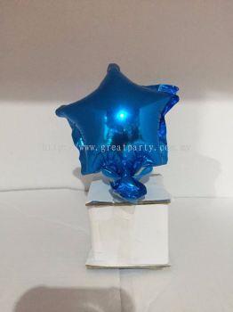 5 Inch Star Shape (Blue)