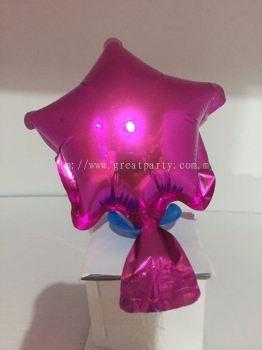 5 Inch Star Shape (Maroon)