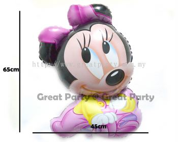Baby Mini /Girl Foil Balloon (Type 11)